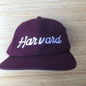 Vintage Harvard College Snapback Hat